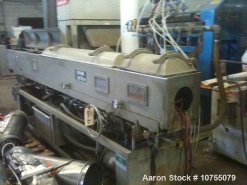 Used-Conair Jetro/Gatto Model DPC1070-14-3 Vacuum Sizer Tank. Right to left operation. 230/3/60, 9.75 maximum amps, 2 hp wat...