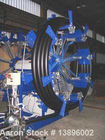 "Used-Pipe Extrusion Line, capacity 441 lbs/hour (200 kg/h), 160 hp/120 kW, handles pipe diameters 1.58"", 2.95"", 3.54"", 4.33""..."