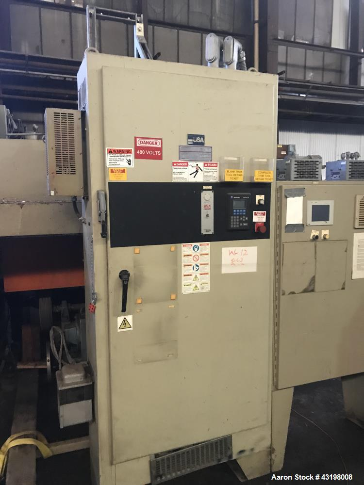 Used- Brown Horizontal Trim Press, Model T350l.