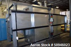 Used- Intek Double Zone (4) Chamber Electric Convection Oven. 60KW, 3/60/480 volt, 120 amps. Serial# 3361.