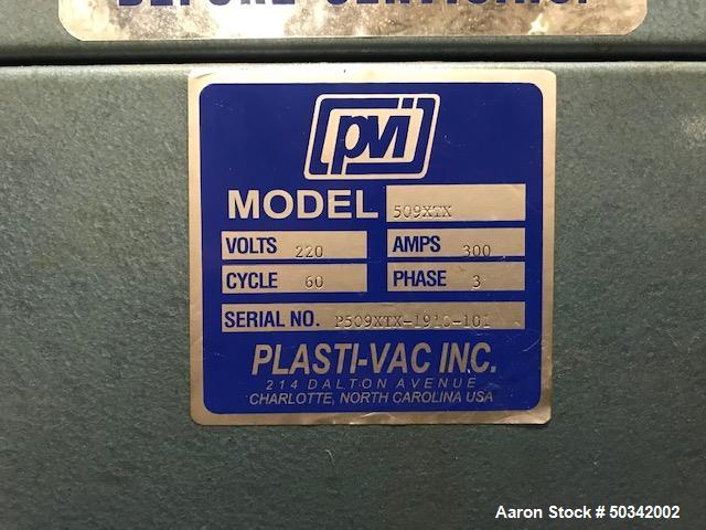 Used- PVI 5' x 8' Vacuum Former.