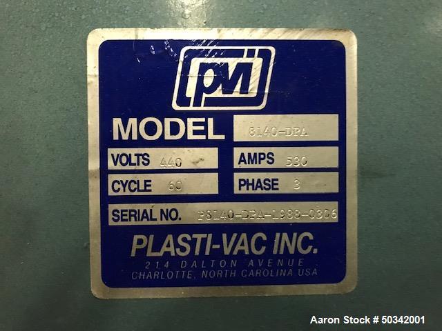 Used- PVI 9' x 13' Vacuum Former.