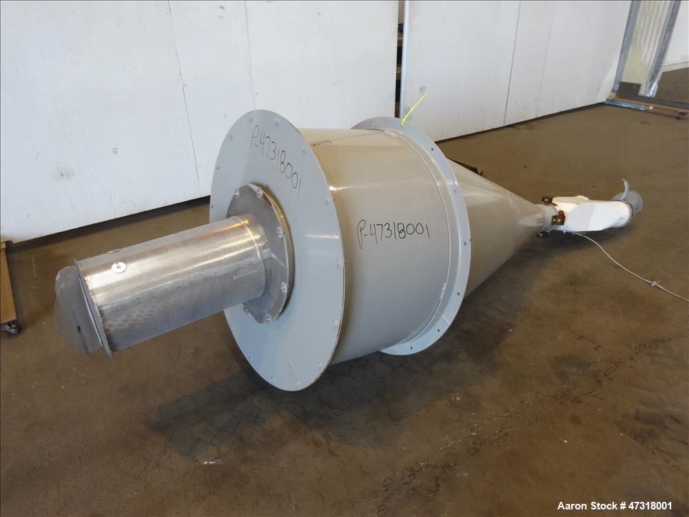 Used- Erema Model 1718 TVE-DD-LF Double Vented Barrel with Vacuum System