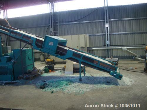 Used-Erema RGA 160 TVE-HG Repelletizing Line comprised of:  (1) Erema RGA 160 TVE-HG single screw extruder, screw diameter 6...