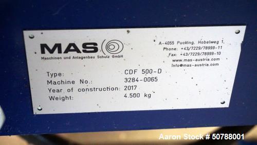 Used- MAS 90mm Twin Screw Pelletizing Line
