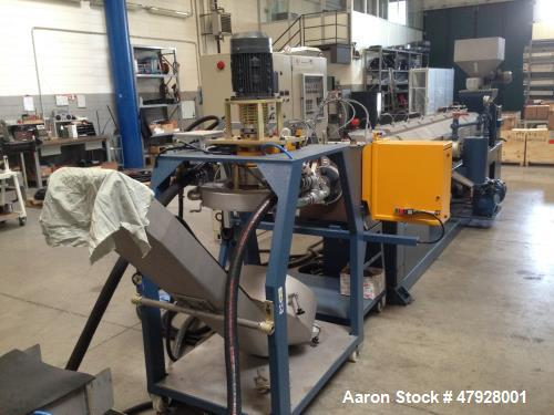Used- OMP Prealpina ES130 Recycling Extruder.
