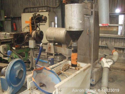 Used-PRT Recycling Line.  Maximum output 1322 lbs/hour (600 kilos/hour).  Motor 268 hp (200 kW).  Line comprised of (1) sing...