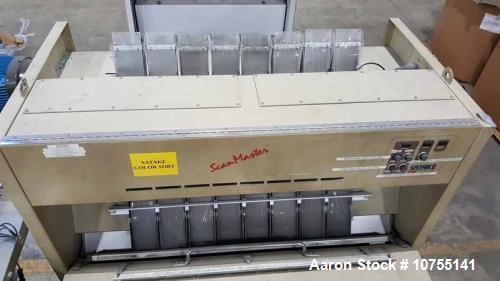 Used-Satake Scanmaster Color Optical Sorter