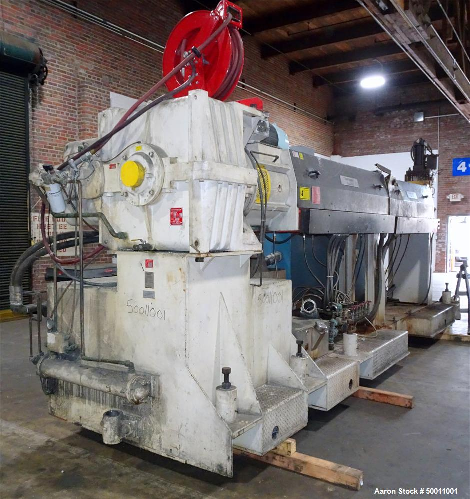 "Used- Davis Standard Co-Extrusion 78"" Wide Sheet Line."