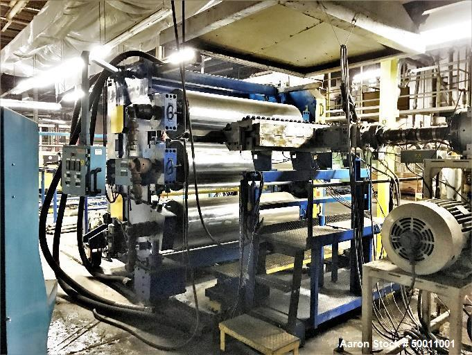 """Used- Davis Standard Co-Extrusion 78"""" Wide Sheet Line."""