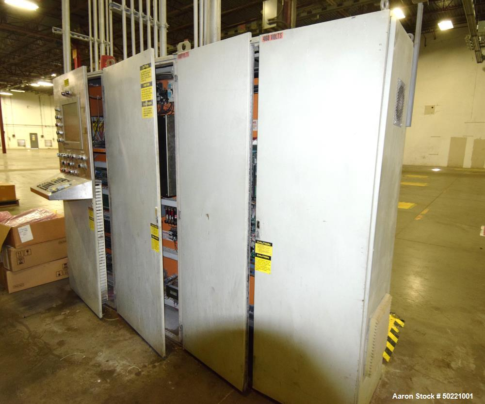 "Used- Battenfeld Gloucester 36"" Wide Inclined Sheet Line."