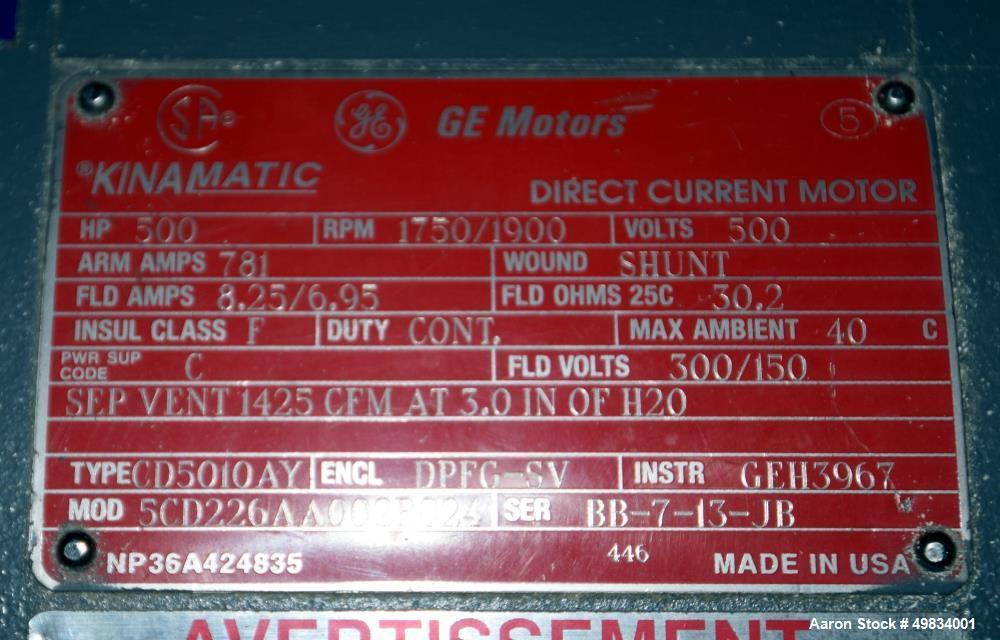 "Used- Cincinnati Milacron 91"" Wide Sheet Line."