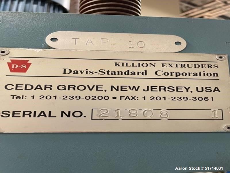 "24"" x 16"" Davis Standard Pilot/Laboratory Size Horizontal Sheet Line"