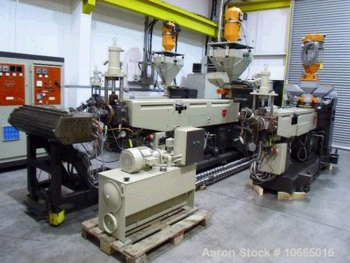 "Used-49.2"" (1250 mm) Kaufman Coextrusion Sheet Line. (1) 3.54"" (90 mm) Kaufmann model 90-33d extruder, vented, vacuum pump, ..."