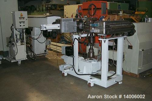 """Used-Kaufmann Sheet Film Extrusion Line, capacity 1543 lbs/hour (700 kg/hour). 4.5"""" (115 mm) extruder, 33 L/D with venting p..."""