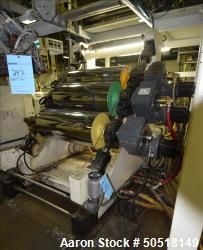 "Used- Shanghai Jobbetter Approximate 18"" diameter x 39.5"" 45 degrees 3 roll sheet stack, chrome rolls. Laminating station wi..."