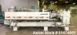 "Used- 54"" Wide Sheet Line Consisting Of: (1) Black Clawson 6"" diameter single screw extruder, model 109011460, approximate 2..."