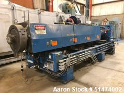 "Used- 48"" Wide Sheet Line Consisting Of: (1) Black Clawson 6"" diameter single screw extruder, model 600 FXTR, approximate 24..."