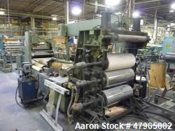 "Used- Davis Standard 3- Roll Sheet Stack, 30"" Wide, Model F8082"