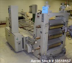 Used- Goulding 3 Roll Sheet Stack.