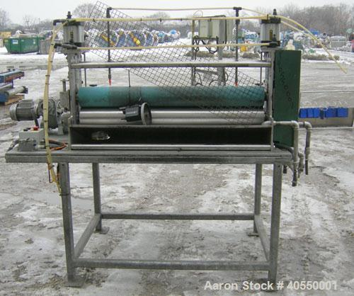 Used- OMV 3 Roll Sheet Stack