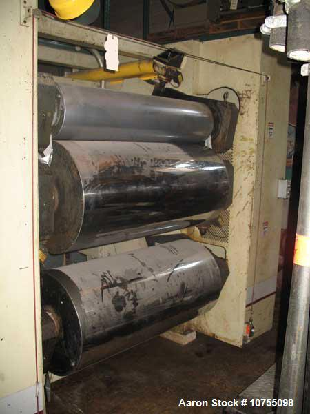 Used-Processing Technologies Inc Model 5024 3 Roll Down Stack