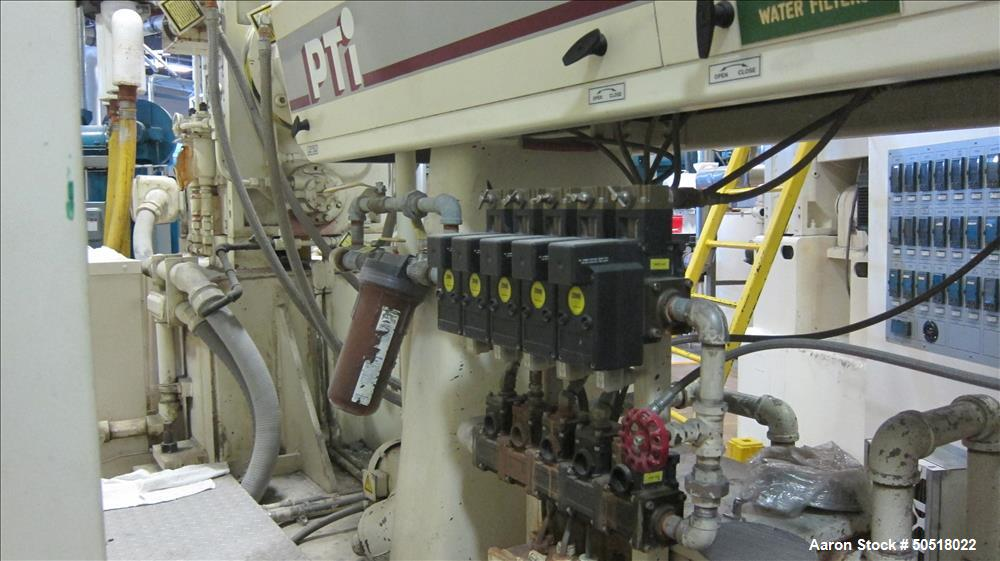 Used- PTI/Welex Co-Extrusion Sheet Line.