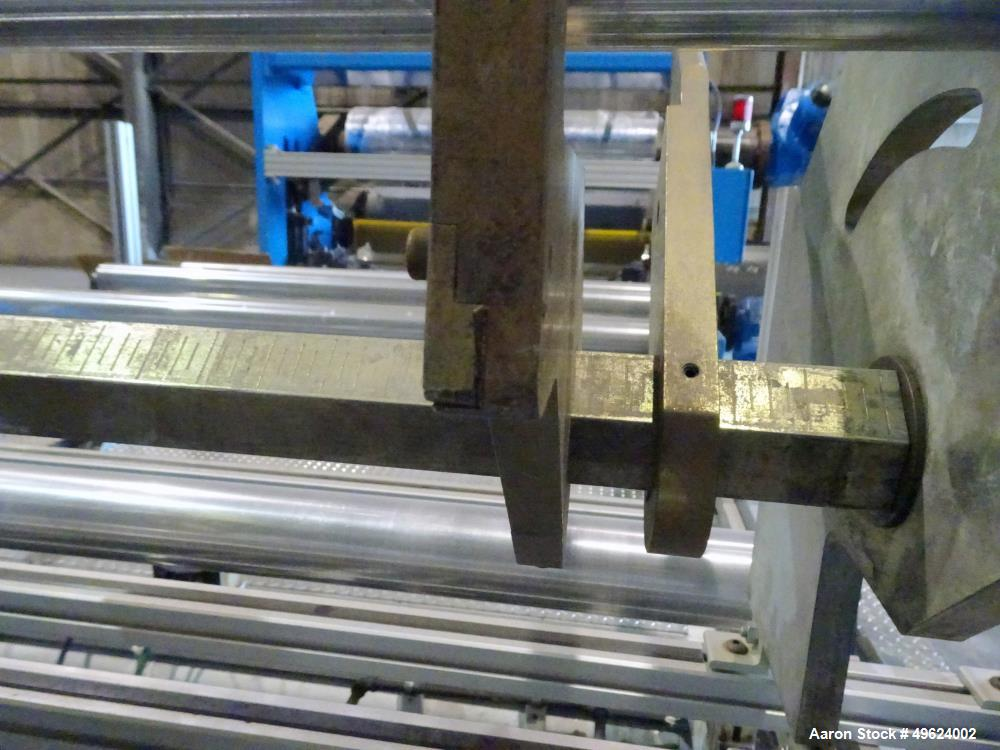 Used- Welex 3 Roll Sheet Stack, Model 18x18x18x72