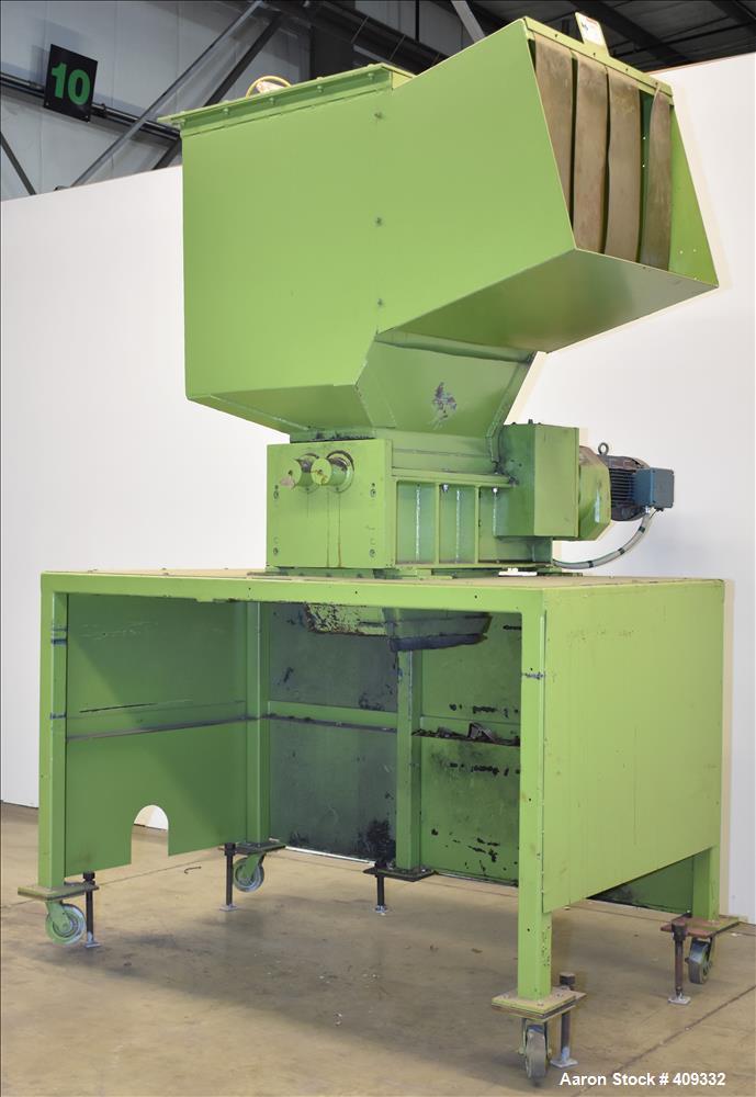 Used- Dual Rotor Shredder