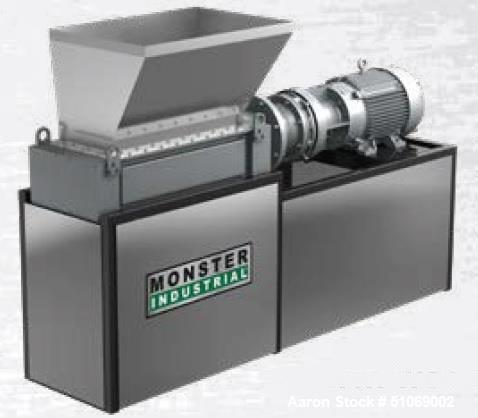 Used- Muffin Monster 3-Shred-H-1800 Grinder