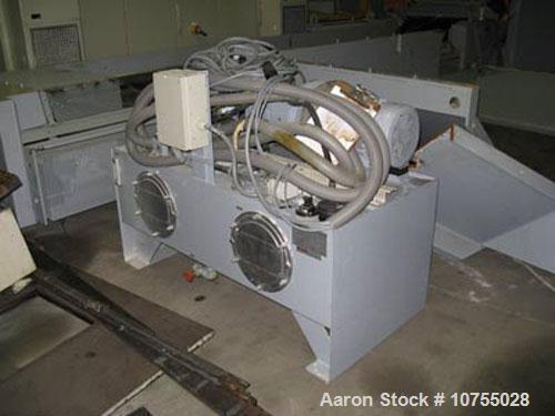 "Used-Lindner Model Jupiter 2200 Single Shaft Shredder. 157.5"" x 98.5"" feed opening, 84"" x 67"" shredding area, dual 150 hp ma..."
