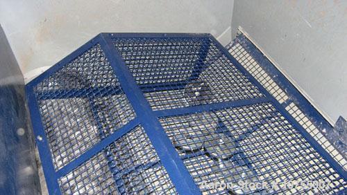 "Used-Lindner model MS2000-S Super Micromat single shaft variable speed shredder. 65"" x 80"" feed opening, 22"" diameter x 80"" ..."
