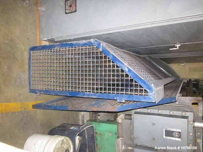 "Used-Lindner Model MS2000-S Super Micromat Single Shaft Variable Speed Shredder.  65"" x 80"" Feed opening, 22"" diameter 80"" w..."