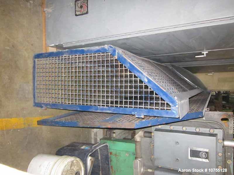 Used- Lindner Model MS2000-S, Super Micromat Single Shaft Vari-Speed Shredder.