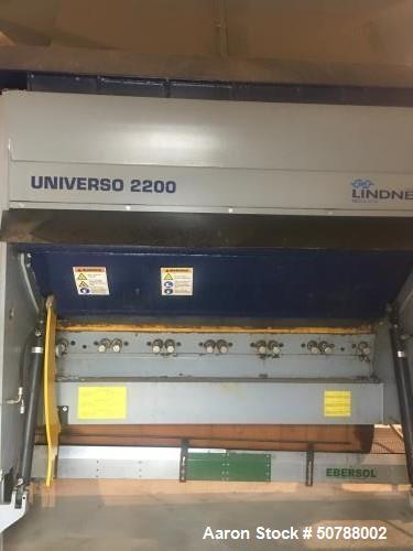Used- Lindner Single Shaft Shredder