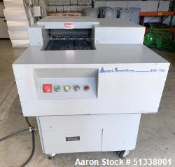 Used- Ameri-Shred Corp. AMS-750 Strip Cut Conveyor-Fed Industrial Paper Shredder