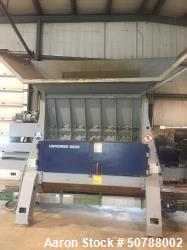 Used-Lindner Single Shaft Shredder