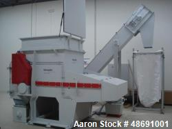 Used- Vecoplan VAZ 1300 M KN Single Rotor Shredder.