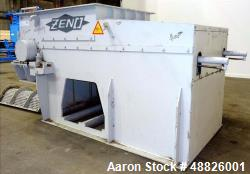 Used- Zeno Waste Shredder, Model ZTLL 1200x1600, Carbon Steel.