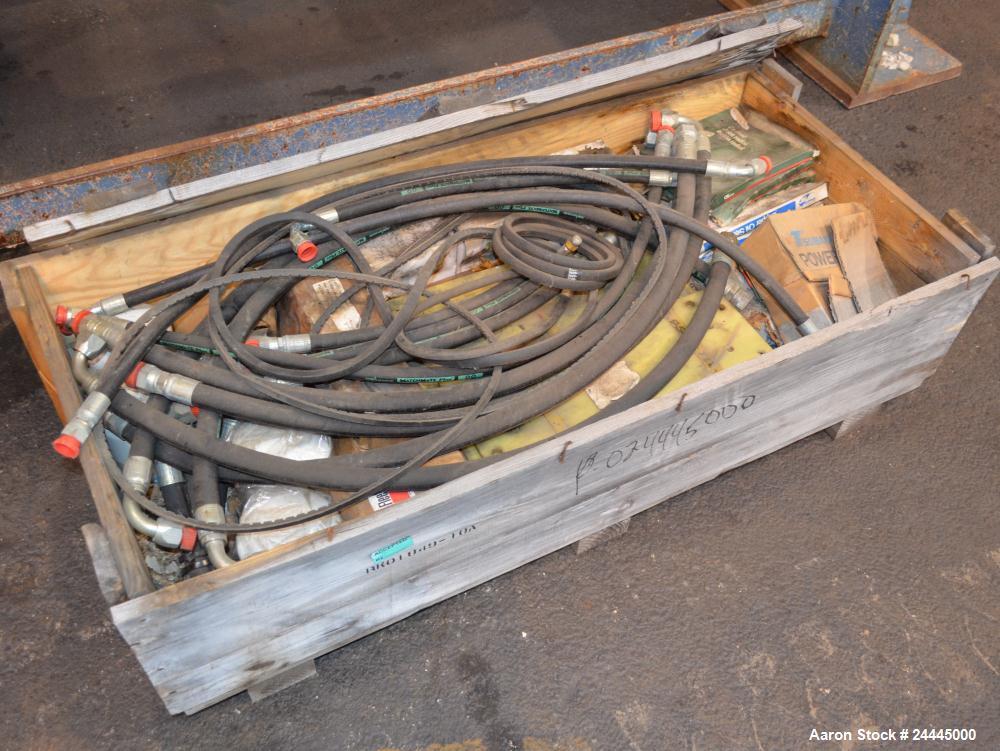 Used- Eldan Recycling / E. Laursens Rasper, Model R1400/4, Carbon Steel. (1) Single shaft with wedge mounted blades. Hydraul...