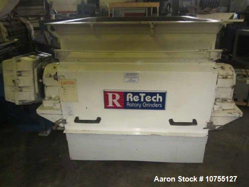 Used- Retech Single Rotor Shredder, Model RG42KXL