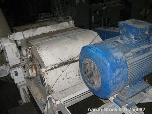 "Used-Retech Model VH34/75 Horizontal Shredder.  5"" x 34"" infeed opening, 16"" diameter 44 cutter rotor, 390 rpm rotor speed, ..."