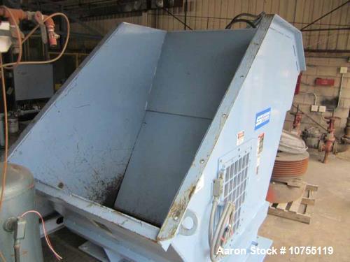 Used- SSI Series 40 Model 2000h Dual Shaft Shredder.