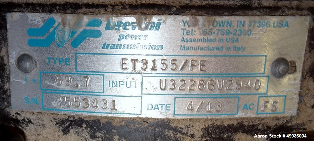 Used- SSI Dual-Shear Shredder, Model M55E.