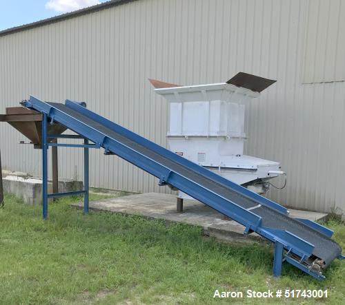 Used-Vecoplan Single Rotor Shredder