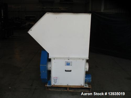 Used- Vecoplan Single Rotor Shredder, Model RG32/20 Z Short
