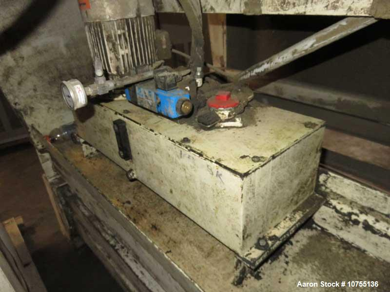 Used- Vecoplan Single Shaft Shredder