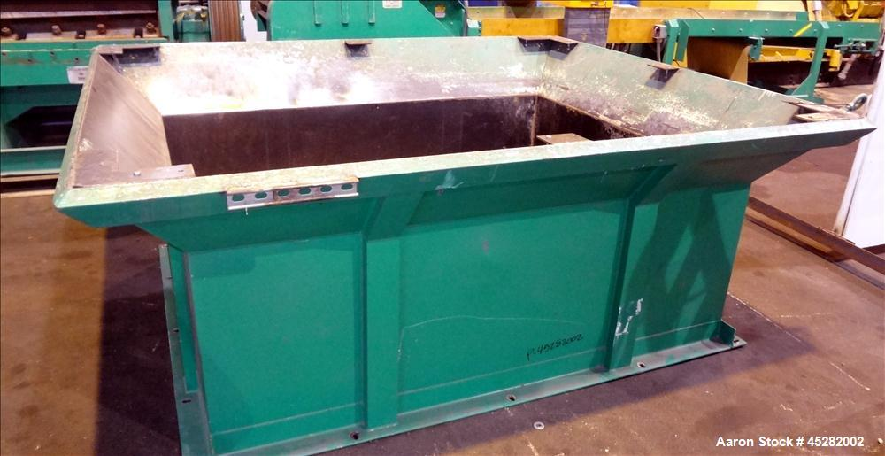 Used- Carbon Steel Vecoplan Single-Shaft Rotary Grinder, Model RG62/150 SPKFF