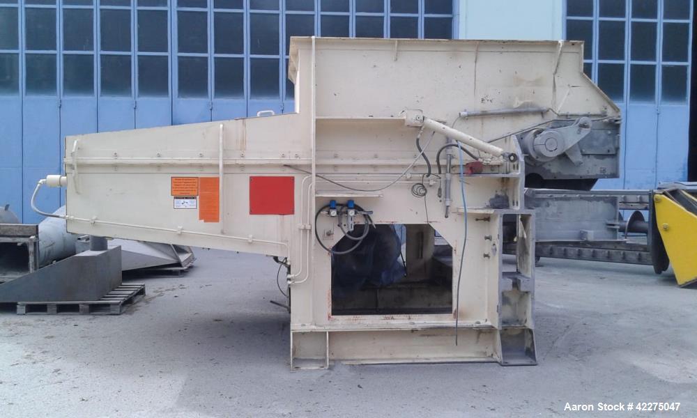Used- Vecoplan Single Roll Shredder
