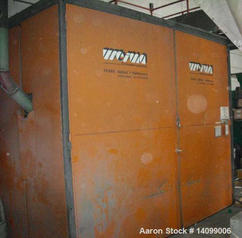 """Used-Complete Recycling Line comprised of (1) Weima WLK 4 S + NZ 3 single shaft shredder, feed opening 23.6"""" x 35.4"""" (600 x ..."""